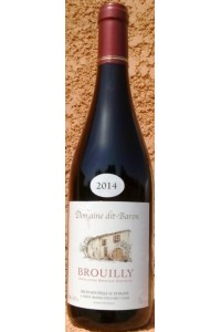 BROUILLY 2016 Domaine dit Baron