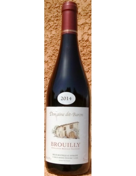 BROUILLY 2015 Domaine dit Baron